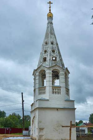 Bezhetsk  , Provincial Russian town , Belfry of Presentation Church