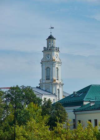 Vitebsk city in Belarus,  View of the historical center Stock fotó