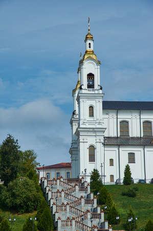 Vitebsk, Belarus, Holy Assumption Cathedral on the Assumption Hill