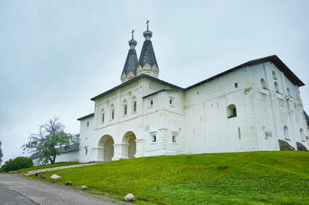 Ferapontov Monastery, in the Vologda region of Russia. August 5, 2019 写真素材