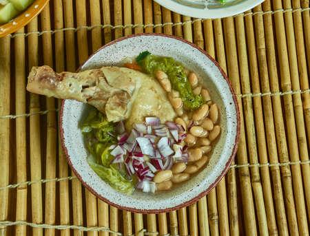 Gallina pinta, soup is originally from Sonora, Mexico.