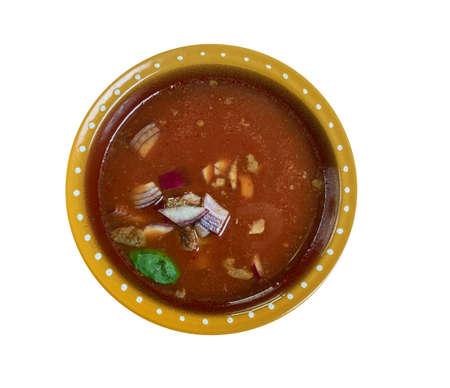 Pancita de res, Menudo Mexicano soup Stock fotó