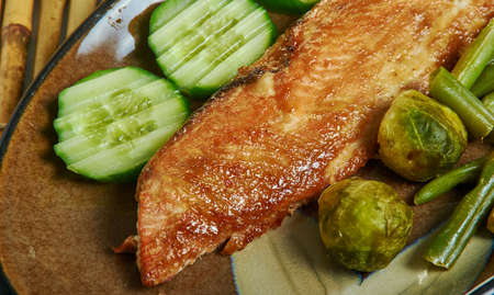Dijon Maple Glazed Salmon, small bowl mix mustard, maple syrup, salt, and pepper.