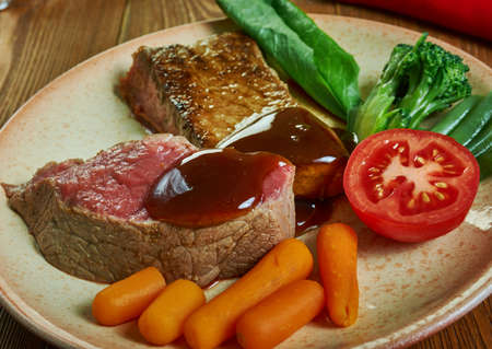 Fillet of Beef Prince Albert, preparing a fillet of beef  which was named  in honour of the husband of Queen Victoria.