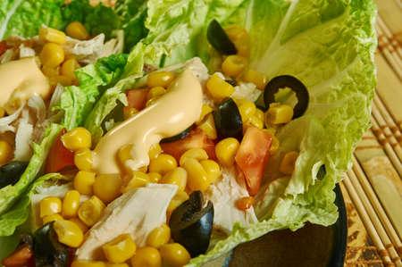 Turkey Taco Lettuce Wraps  our favorite Paleo Фото со стока