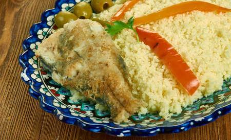 Couscous au merou - Tunisian-Style Couscous with Fish