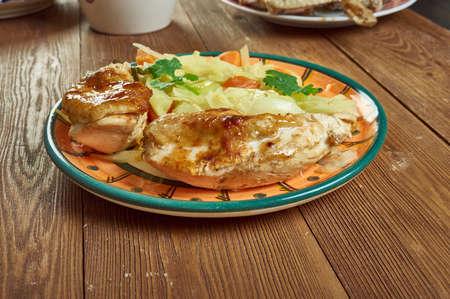Herbed Faux tisserie Chicken, roasted chicken dinner