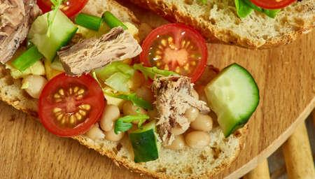 Pan Bagnat - Le French Tuna Salad Sandwich