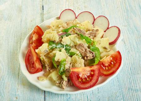 French Potato and Tuna Salad, naturally Paleo