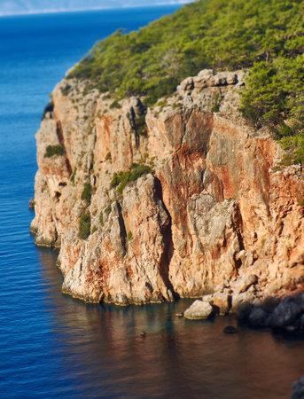 Turkish Riviera near Finike, on the Mediterranean coast of Antalya Province in Turkey.