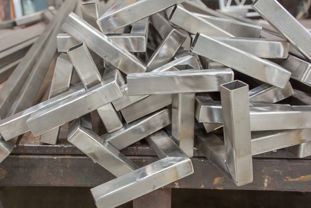 pretty s shiny: Soft focused picture of  A pieces of  Stainless steel  gate fence