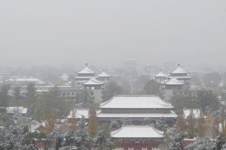 beijing: winter in Beijing