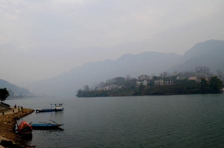 yichang: Evening of Qingjiang River