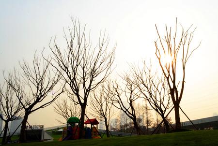 wuhan: Winter of Wuhan Stock Photo