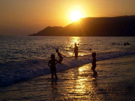 A sunset photo