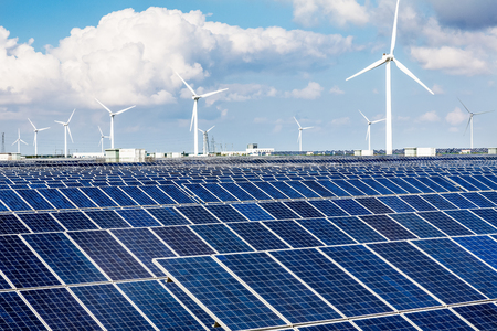 Solar photovoltaic power stations