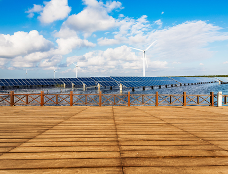 Solar photovoltaic power stations photo
