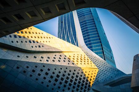 architectural exterior: Modern architectural exterior