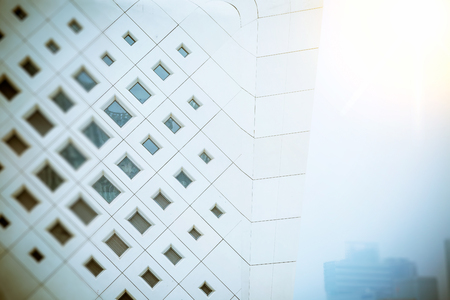 Modern architectural exterior