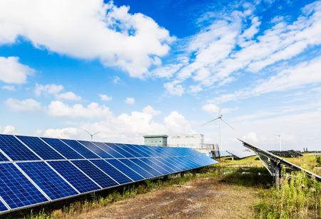 Solar power station photo