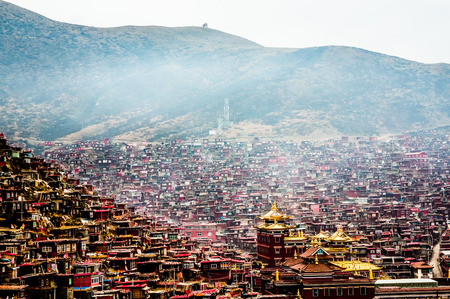 lamaism: Sichuan Tibetan scenery