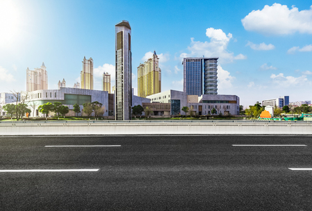City and highway scenery