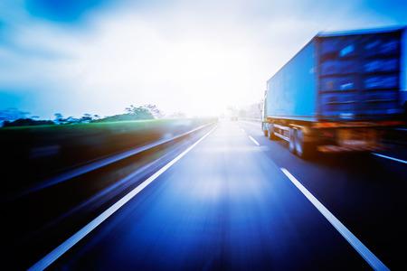 Camionnage de conteneurs Banque d'images - 38267426