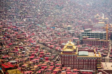 lamaism: Sichuan Tibetan scenery Seda