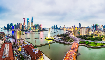 Cityscape of The Bund, Shanghai