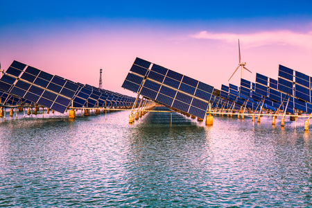 Utilization of solar and wind power