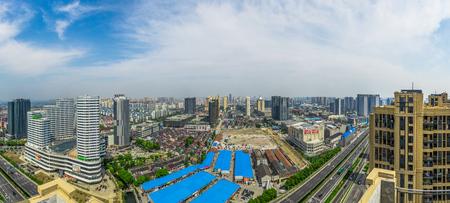 panoramas: Wuxi cityscape panoramas