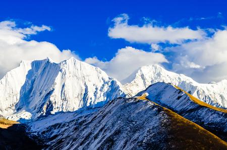 中国、吉林省長白山天池の風景
