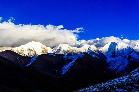 four peaks wilderness: The scenery of China, jilin changbai mountain tianchi