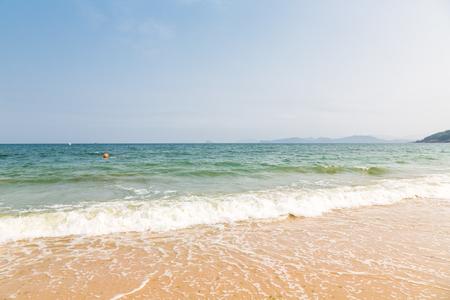 and sanya: beach landscape China Hainan Sanya
