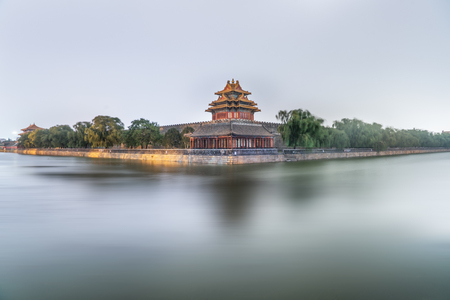turret: Turret of Forbidden city in China.