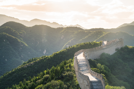 heritage protection: the Great Wall in China.