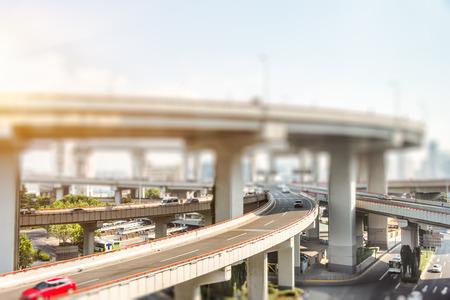 overpass: Overpass in Shanghai, China