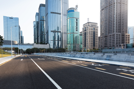 urban traffic with cityscape in city of China. Stock Photo - 74810660