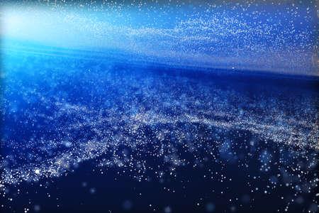 Representación 3D, la magnífica nebulosa espiral. El fondo del universo. Fondo digital de computadora.
