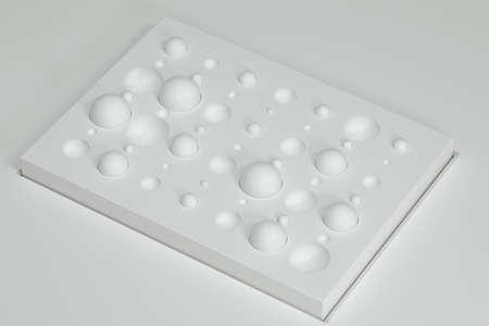 3d unique fixture on a surface