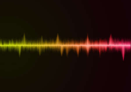 Sound wave pink Stock Photo - 10127773