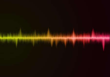 wave sound: Sound wave pink