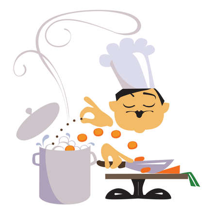 the chef Vector