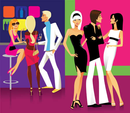 on a party Stock Vector - 9396314