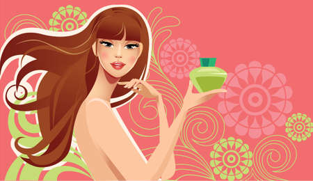 feminine: beauty girl