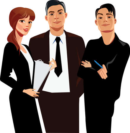 직업적인: 사업 사람들