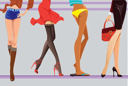 piernas de mujer: piernas femeninas
