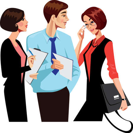 empleado de oficina: hombre trabajador de oficina