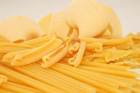 viands: pasta Stock Photo
