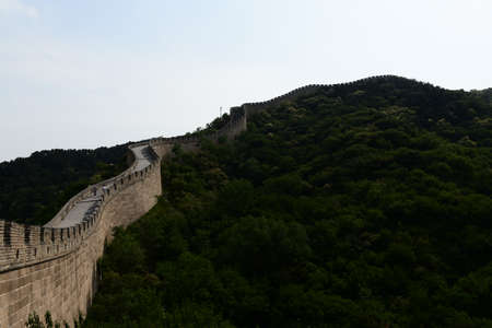 great wall: great wall China Stock Photo